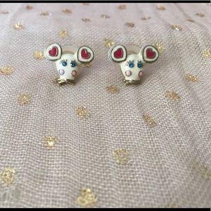 Betsey Johnson Mice Earrings